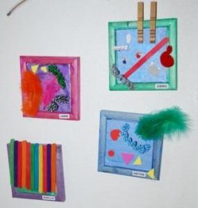 Børnenes kreationer